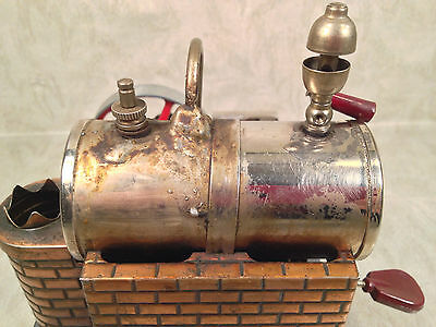 DBP Angem Steam Engine Model  Made in Germany Has Burner Tray Missing Piston Rod 11