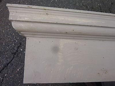 """c1900 INTERIOR window - DOOR pediment HEADERS mostly pine 42-46"""" long x 7""""h 2"""