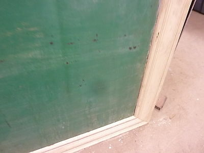 "early 20th century schoolhouse SLATE chalkboard FRAMED pine molding 57 x 45"" 3"