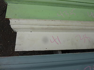 "c1900 INTERIOR window - DOOR pediment HEADERS mostly pine 42-46"" long x 7""h"