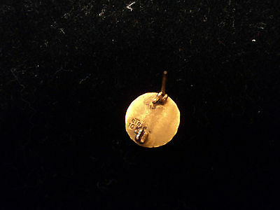 Vintage 10K Yellow Gold Cto Bell Telephone Company Charm Pin 4