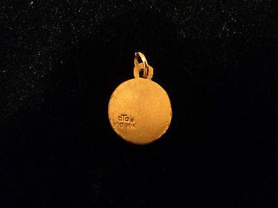 Vintage 1/10 10K Yellow Gold Cto Bell Telephone Company Charm Pendant 3