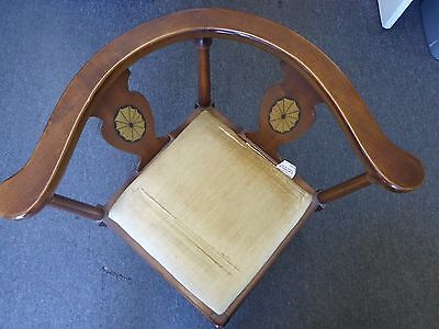 """Antique Vintage Corner Chair by Lane Earl's Court Collection 31""""H x  26""""W 6"""