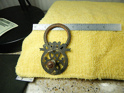 1-Vintage Antique? Cabinet Replacement Pull Dresser Drawer Handle unmarked