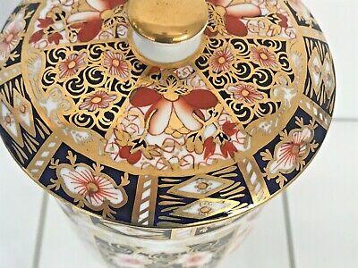 Rare Royal Crown Derby 2451 Or Traditional Imari Condiment Jar - Date Code 1917 7
