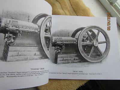 Foos 1903 Gas and Gasoline Engine Catalog #10 Springfield Ohio Super Rare!! 2