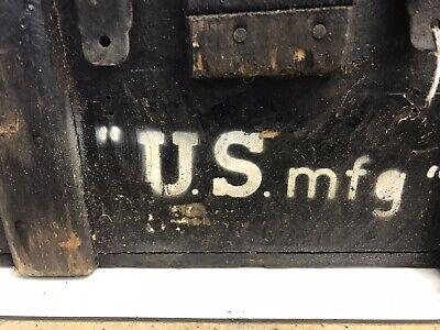 Vintage Antique Mars Equipment USA Wooden Box E.F.S. INC New York US MFG 2