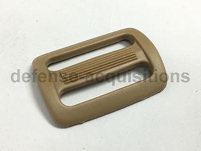 "2/"" Tri glide Sliplock Strap Adjust BLACK Military Sling ITW"