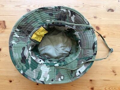 Multicam Boonie Hat US Army Woodland BDU Jungle Sun Cap Military 1 Size Fits All 5