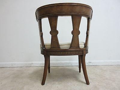 Vintage Italian Regency Fireside Side Lounge Living Room Side Chair B 11