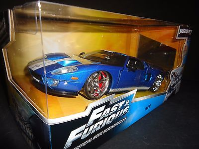 Jada Ford Gt  Blue Fast And Furious