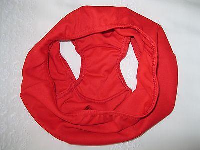 """Girls Scarlet Knickers Sz 24"""" (fit 23-26 Waist) UK Made QUALITY Bri Nylon NEW! 4"""