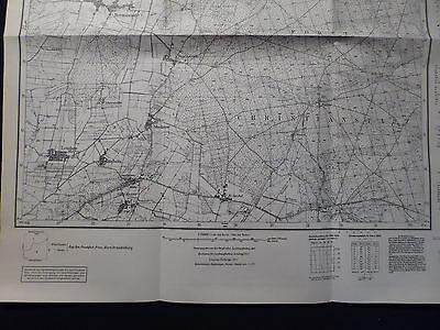 Landkarte Meßtischblatt 4156 Hermswalde i.d. Neumark / Chocicz, Crossen, 1938