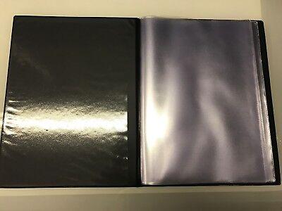 Guest Information  Pvc Folder 7 A4 Double Pockets Ref Black/Gold 4