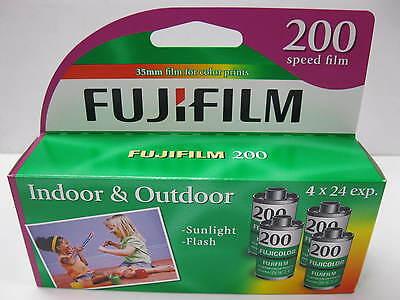 20 Rolls (5 Boxes) Fujicolor Fujifilm 200 24 Exp Color Print 35mm 07/2017 Fuji 3