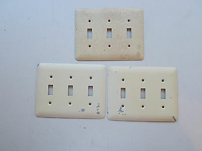 Vintage Metal Switch Outlet Cover Plates, Huge Lot, Togge, Duplex *FREE SHIP* 4