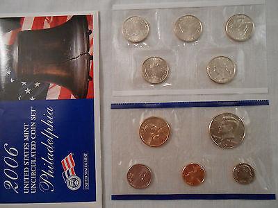 Coins:Collection: 2006 US Mint Uncirculated Coins: 2 Sets :Philadelphia/Denver 9