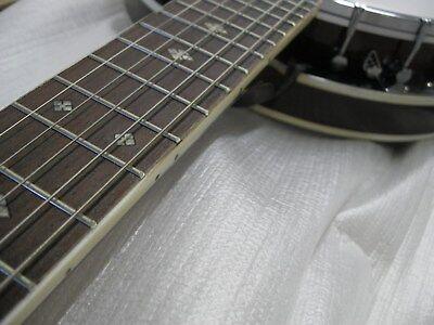 Banjo BJ6-6-saitiges, Mensur 65,8cm, Remo Weatherking-Fell,Randeinlagen,by MSA!n 3