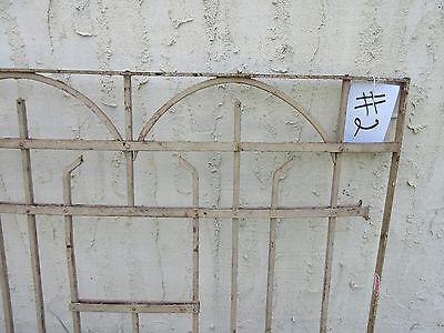 Antique Victorian Iron Gate Window Garden Fence Architectural Salvage Door #2 5