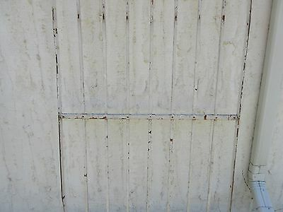 Antique Victorian Iron Gate Window Garden Fence Architectural Salvage Door #378 3