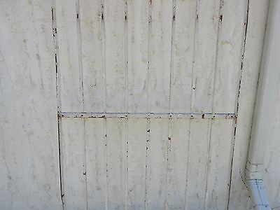 Antique Victorian Iron Gate Window Garden Fence Architectural Salvage Door #378 3