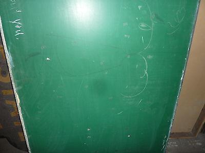 "antique ORIGINAL circa 1920's schoolhouse SLATE chalkboard 61.5 x 36"" UTICA, NY 5"