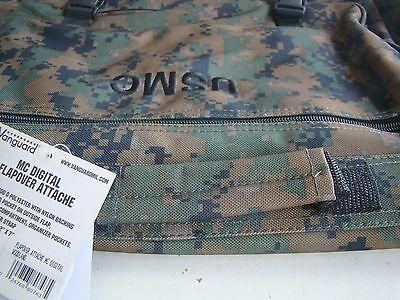5d3ba3550d6e ... Usmc Marine Corps Woodland Marpat Camo Camouflage Waterproof Attache  Brief Case+ 5