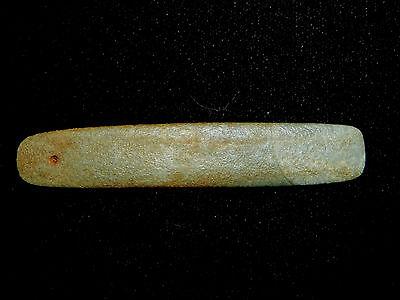 Pre-Columbian Jade Pendant, Green Jade, Authentic 2