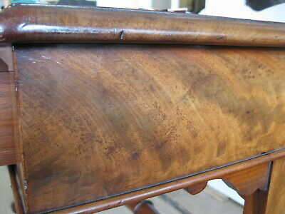 Antique Victorian Walnut Library Leather Top Table / Writing Sofa /Stunning Desk 9