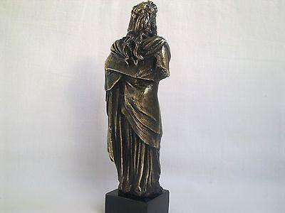 Sculpture Dionysus/Bacchus god of wine Greek Mythology statue figure brass 9