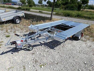 Autotransporter L- AT 350 G-K 1500 kg Pongratz kippbar mit Spiralkabel 2