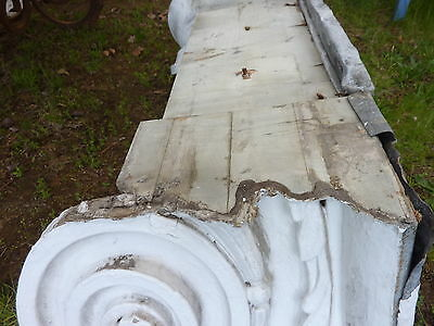 "GORGEOUS c1916 pilaster CAPITOL pediment salvaged HARVARD college 45"" x 13 x 15"" 8"