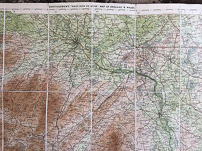 """Barthomew's New Reduced Survey for Tourists & Cyclists""(Shropshire)-circa1900 4"
