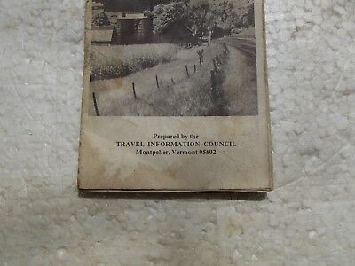 ***Vintage*** 1973*** SOUTHERN VERMONT TRAVELERS SERVICES GUIDE*** BROCHURE*** 2