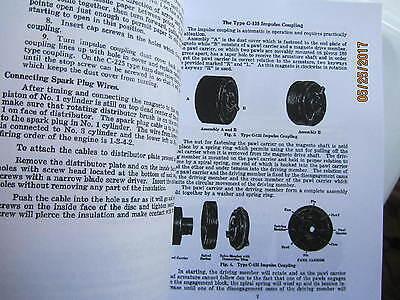 1929 J I Case Robert  Bosch FU-4-A Magneto instruction Manual 2