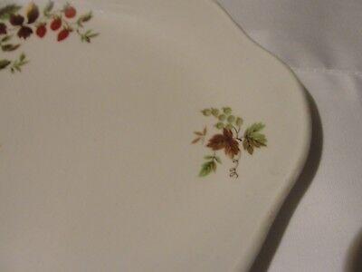 Vintage floral china serving platter 4