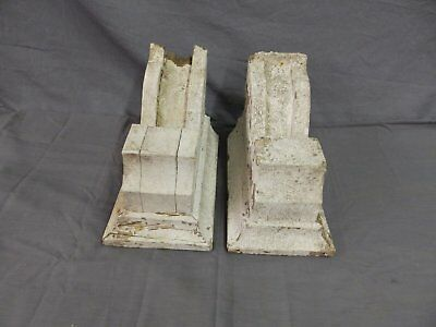 Antique Pair Corbels Wood Small Victorian Architectural Shabby Vtg Chic 513-17P 3