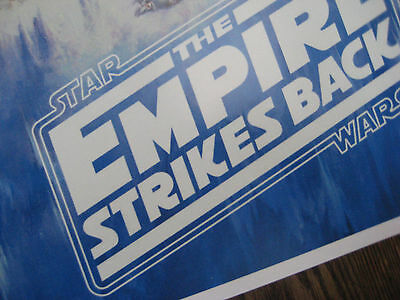 "Star Wars - Empire Strikes Back ( 11"" x 17"" ) Collector's Poster Print -B2G1F 3"