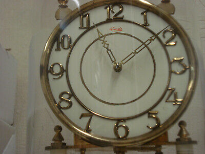 """Day clock 400 Days """" Anniversary """" Complete whit Glass for parts or repair 7"""