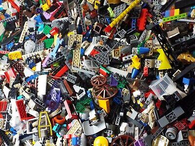 Lego Lot of 3 lbs Pieces, Parts, Bricks Random From Huge Bulk Assorted Free Ship 6