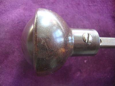 Vintage brown bakelite rimlock handles 4