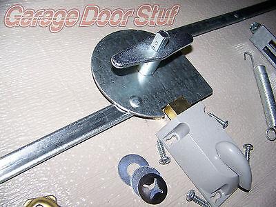 Garage Door Lock Set 1 Car Door Extension Spring 2839 Picclick Uk