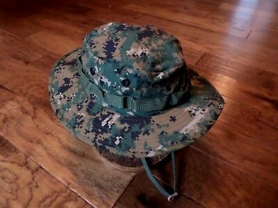 9bffbbf2ddef4 ... New Digital Woodland Boonie Hat Size Large Marine Corps Camouflage  Pattern 5