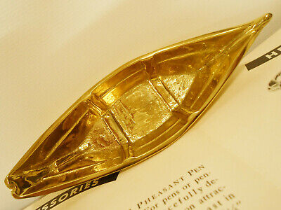 Advertising Cast Iron Dory Boat Brass Dory Mystic Seaport Virginia Metalcrafters 7