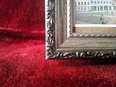 Marco de fotos PLATA ANTIGUA, Negro con Vidrio, 13x18 Marco marco de fotos 3 • EUR 28,32