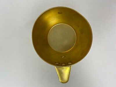 Rare Ancient Greek Mycenaean Art Replica Gold Bull Cretan Cup Hand Made Greece 7