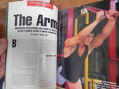 Men's Fitness January 1992- Physique Magazine- 7