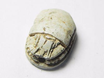 Zurqieh -Tat145-  Ancient Egypt, New Kingdom. Stone Scarab 1400 B.c 2