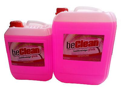 Sanitärreiniger Pink 5 Liter im  Kanister für Bad und WC 4