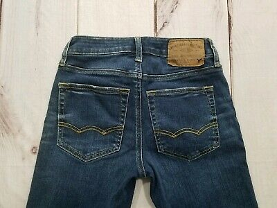 American Eagle Outfitters Extreme Flex Slim Straight Juniors Boys Size 26x26 4